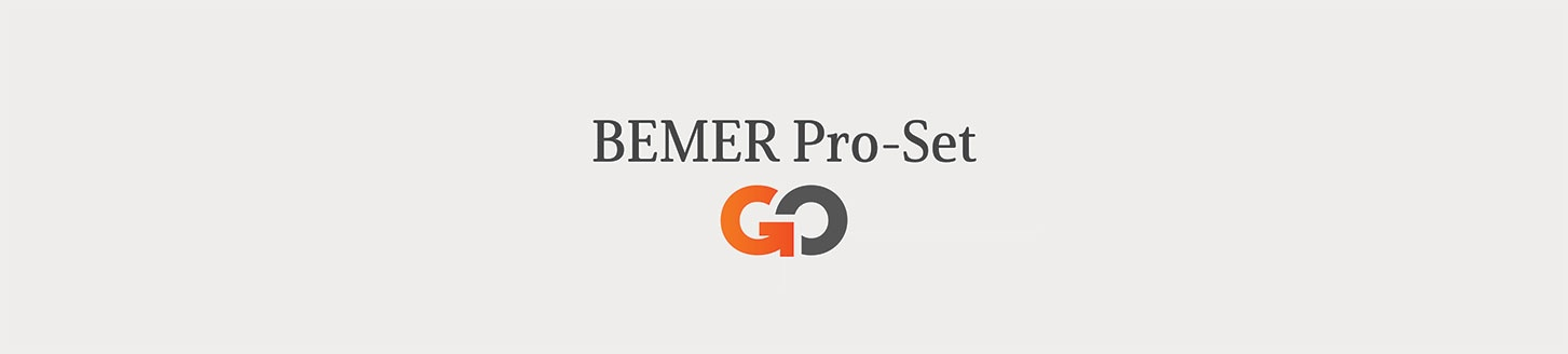 BEMER's all new product   BEMER Pro-Set GO Edition